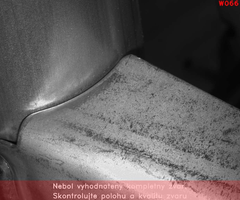 Arc weld visual inspection
